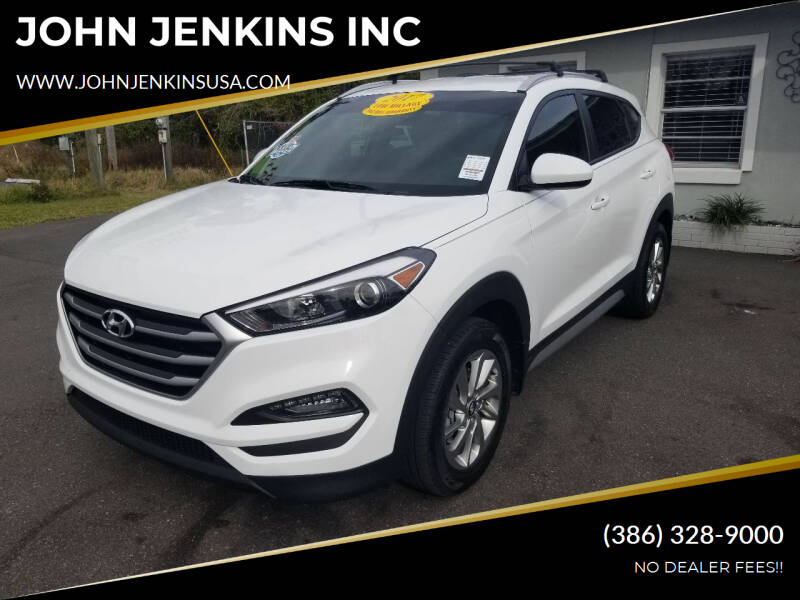 2017 Hyundai Tucson for sale at JOHN JENKINS INC in Palatka FL