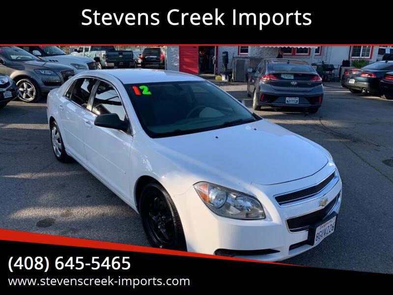 2012 Chevrolet Malibu for sale at Stevens Creek Imports in San Jose CA