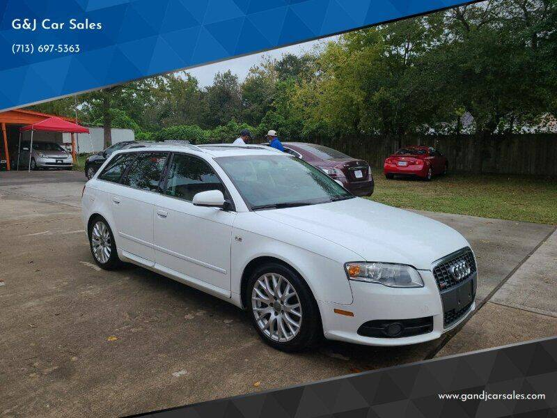 2008 Audi A4 for sale at G&J Car Sales in Houston TX
