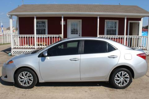 2019 Toyota Corolla for sale at AMT AUTO SALES LLC in Houston TX