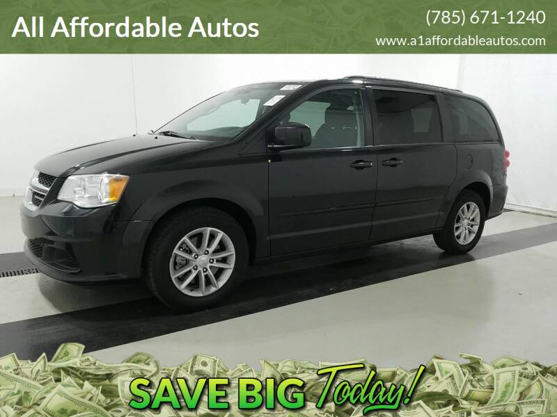 2015 Dodge Grand Caravan for sale at All Affordable Autos in Oakley KS