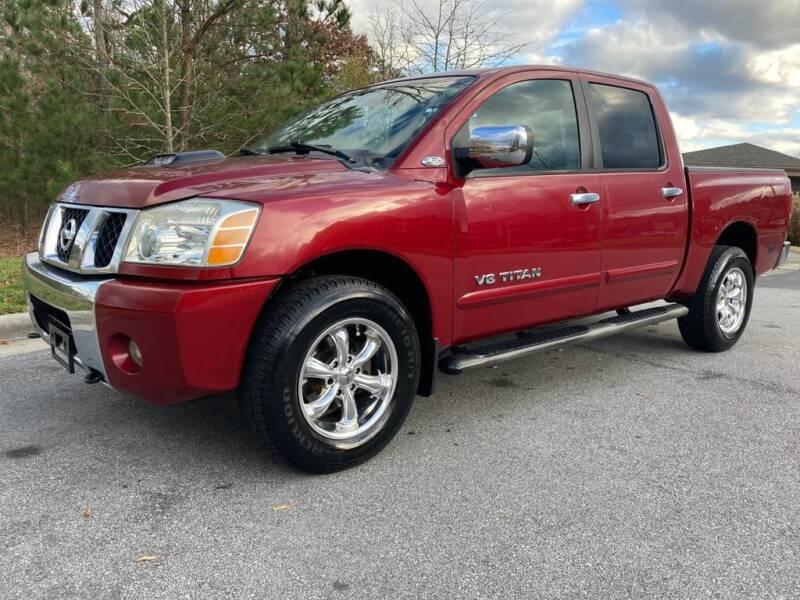 2005 Nissan Titan for sale at LA 12 Motors in Durham NC