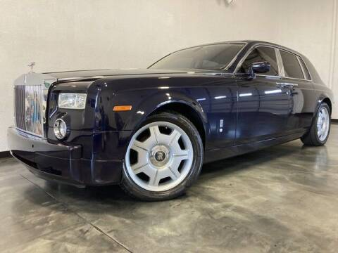 2006 Rolls-Royce Phantom for sale at BLACK LABEL AUTO FIRM in Riverside CA