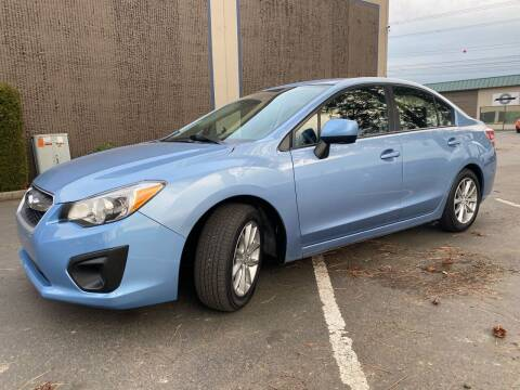 2012 Subaru Impreza for sale at Exelon Auto Sales in Auburn WA