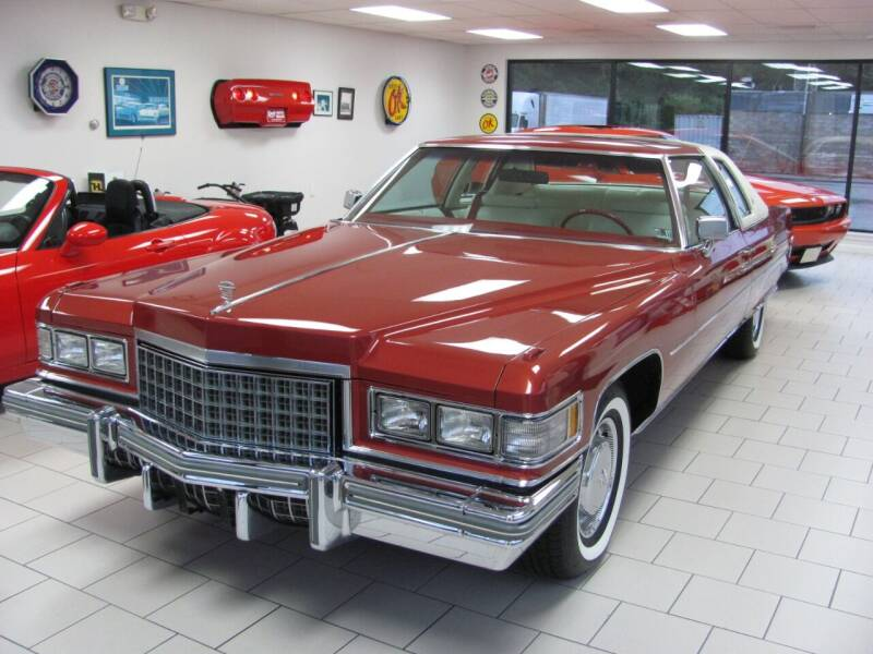 1976 Cadillac DeVille for sale at Kens Auto Sales in Holyoke MA