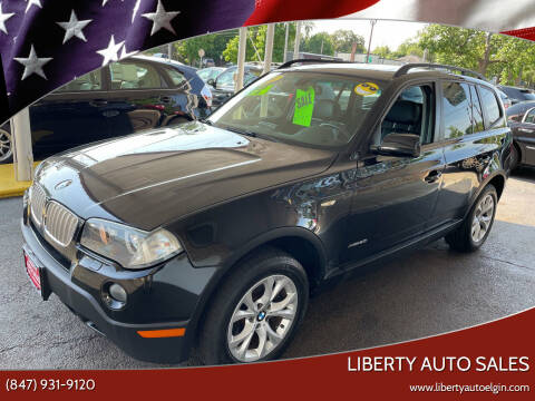 2009 BMW X3 for sale at Liberty Auto Sales in Elgin IL