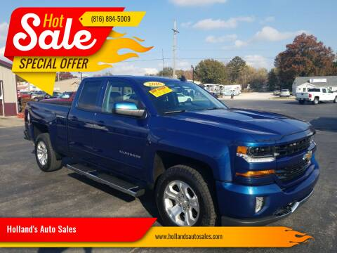2016 Chevrolet Silverado 1500 for sale at Holland's Auto Sales in Harrisonville MO
