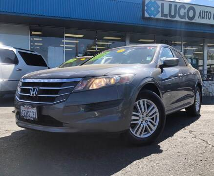 2012 Honda Crosstour for sale at LUGO AUTO GROUP in Sacramento CA