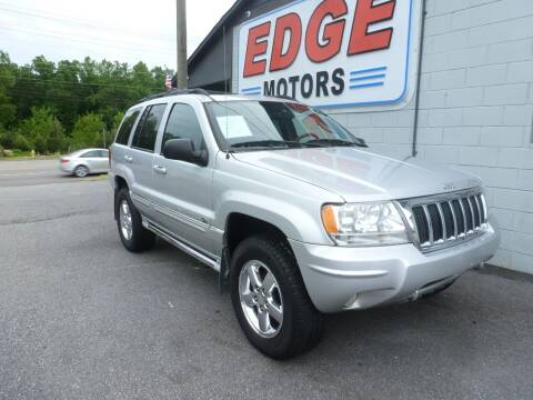 2004 Jeep Grand Cherokee for sale at Edge Motors in Mooresville NC