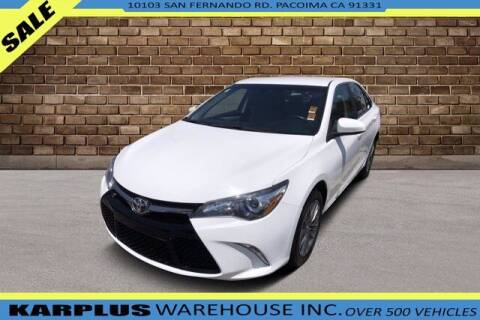 2017 Toyota Camry for sale at Karplus Warehouse in Pacoima CA