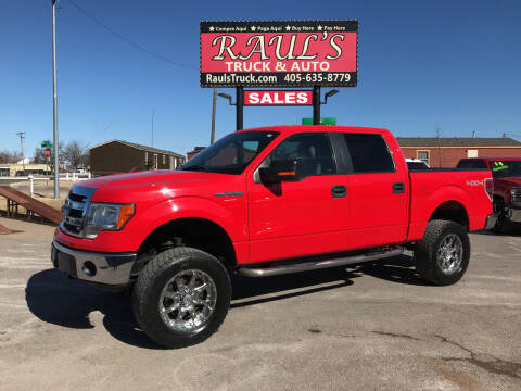 2014 Ford F-150 for sale at RAUL'S TRUCK & AUTO SALES, INC in Oklahoma City OK