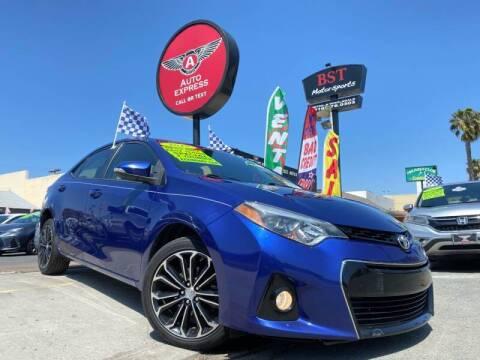 2015 Toyota Corolla for sale at Auto Express in Chula Vista CA