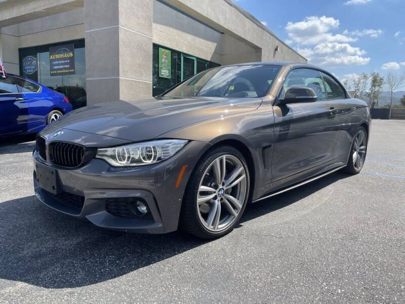 2017 BMW 4 Series for sale at AutoHaus in Colton CA