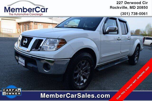 2015 Nissan Frontier for sale at MemberCar in Rockville MD