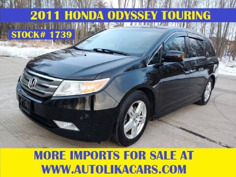 2011 Honda Odyssey for sale at Autolika Cars LLC in North Royalton OH