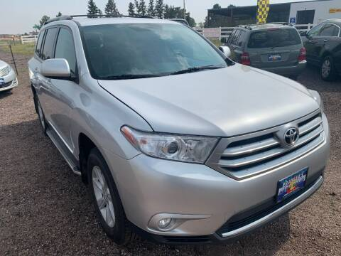 2013 Toyota Highlander for sale at Praylea's Auto Sales in Peyton CO