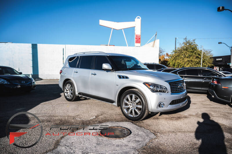 2014 Infiniti QX80 for sale at Fortis Auto Group in Las Vegas NV
