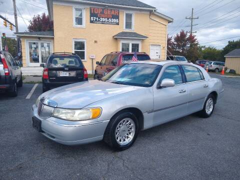 1998 Lincoln Town Car for sale at Top Gear Motors in Winchester VA