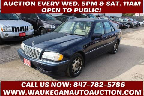 1999 Mercedes-Benz C-Class for sale at Waukegan Auto Auction in Waukegan IL
