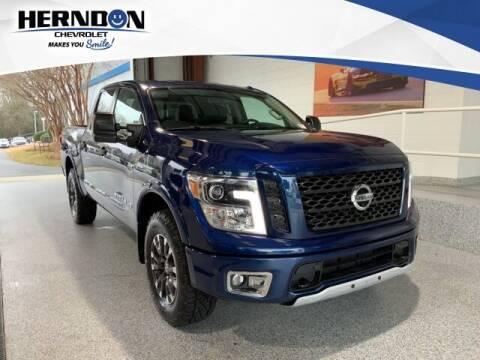 2019 Nissan Titan for sale at Herndon Chevrolet in Lexington SC