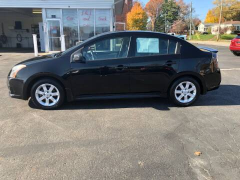 2011 Nissan Sentra for sale at J&J Car and Truck Sales in North Canton OH