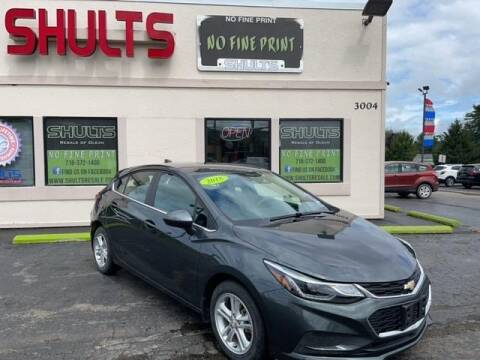 2018 Chevrolet Cruze for sale at Shults Resale Center Olean in Olean NY