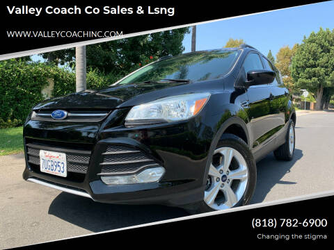 2016 Ford Escape for sale at Valley Coach Co Sales & Lsng in Van Nuys CA