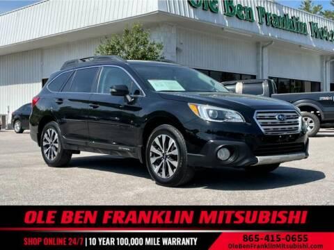 2015 Subaru Outback for sale at Ole Ben Franklin Mitsbishi in Oak Ridge TN