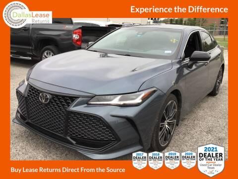2019 Toyota Avalon for sale at Dallas Auto Finance in Dallas TX