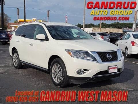 2016 Nissan Pathfinder for sale at GANDRUD CHEVROLET in Green Bay WI