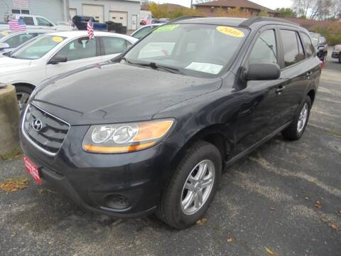 2010 Hyundai Santa Fe for sale at Century Auto Sales LLC in Appleton WI