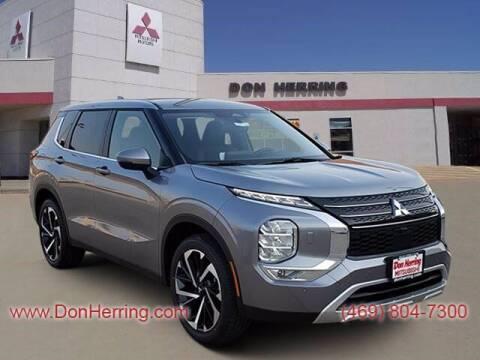 2022 Mitsubishi Outlander for sale at DON HERRING MITSUBISHI in Irving TX