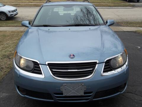2008 Saab 9-5 for sale at GLOBAL AUTOMOTIVE in Gages Lake IL