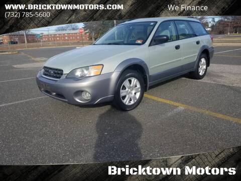 2005 Subaru Outback for sale at Bricktown Motors in Brick NJ