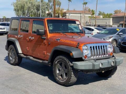 2010 Jeep Wrangler Unlimited for sale at Brown & Brown Wholesale in Mesa AZ