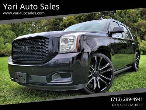 2016 GMC Yukon for sale at Yari Auto Sales in Houston TX