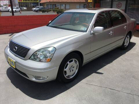 2002 Lexus LS 430 for sale at CARSTER in Huntington Beach CA