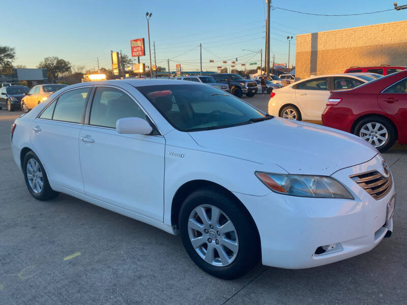 2007 Toyota Camry Hybrid for sale at Houston Auto Gallery in Katy TX