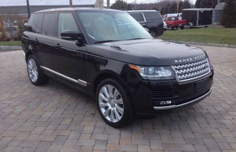 2015 Land Rover Range Rover for sale at Shedlock Motor Cars LLC in Warren NJ