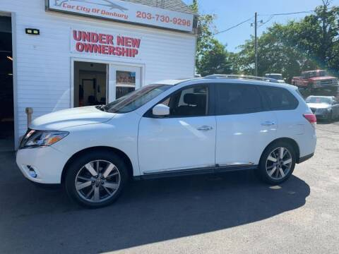 2013 Nissan Pathfinder for sale at Car VIP Auto Sales in Danbury CT