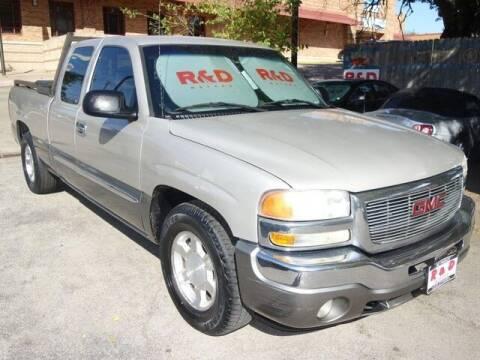2006 GMC Sierra 1500 for sale at R & D Motors in Austin TX