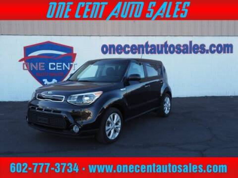 2016 Kia Soul for sale at One Cent Auto Sales in Glendale AZ