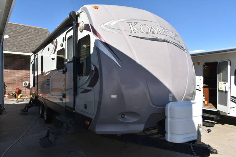 2012 Dutchmen Komfort 2650FL for sale at Buy Here Pay Here RV in Burleson TX