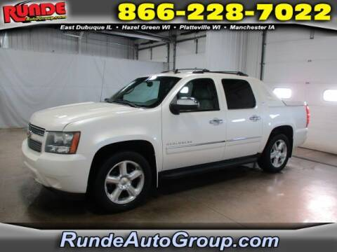 2011 Chevrolet Avalanche for sale at Runde Chevrolet in East Dubuque IL