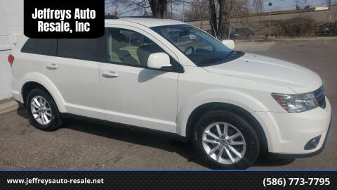 2013 Dodge Journey for sale at Jeffreys Auto Resale, Inc in Clinton Township MI