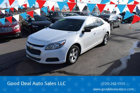 2016 Chevrolet Malibu Limited for sale at Good Deal Auto Sales LLC in Denver CO