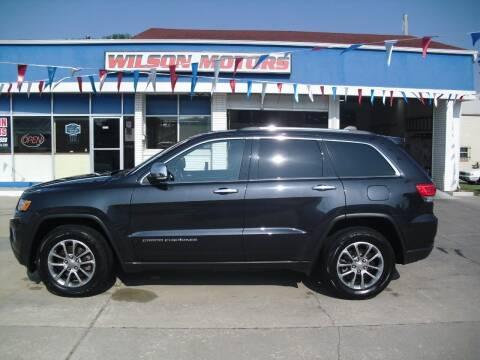2014 Jeep Grand Cherokee for sale at Wilson Motors in Junction City KS