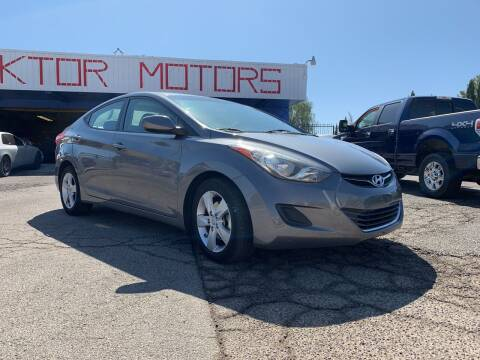 2013 Hyundai Elantra for sale at Boktor Motors in Las Vegas NV