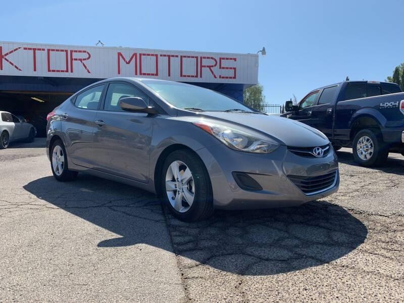 2013 Hyundai Elantra for sale at Boktor Motors in Las Vegas NV