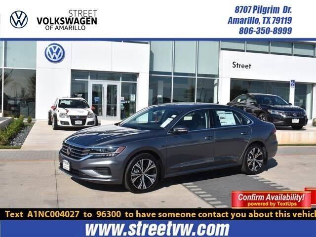 2022 Volkswagen Passat for sale in Amarillo, TX